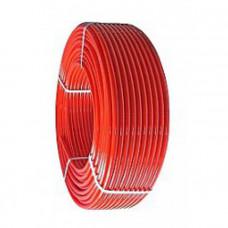 Труба из сшитого полиэтилена Kisan 16x2,0 красная (Италия)