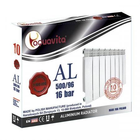 Алюминиевый радиатор AQUAVITA C6 500/96