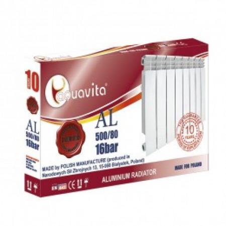 Алюминиевый радиатор AQUAVITA L6 500/80